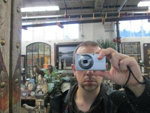 Steven Montano as the cyclops