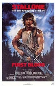 First Blood, Sylverster Stallone, Walter Rhein