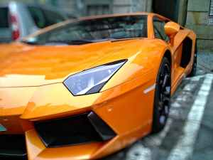 cars vehicles orange power