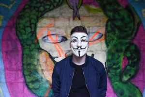 man graffiti jacket free